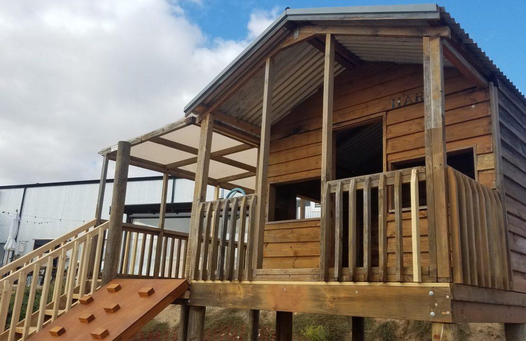 Harri the cubby house